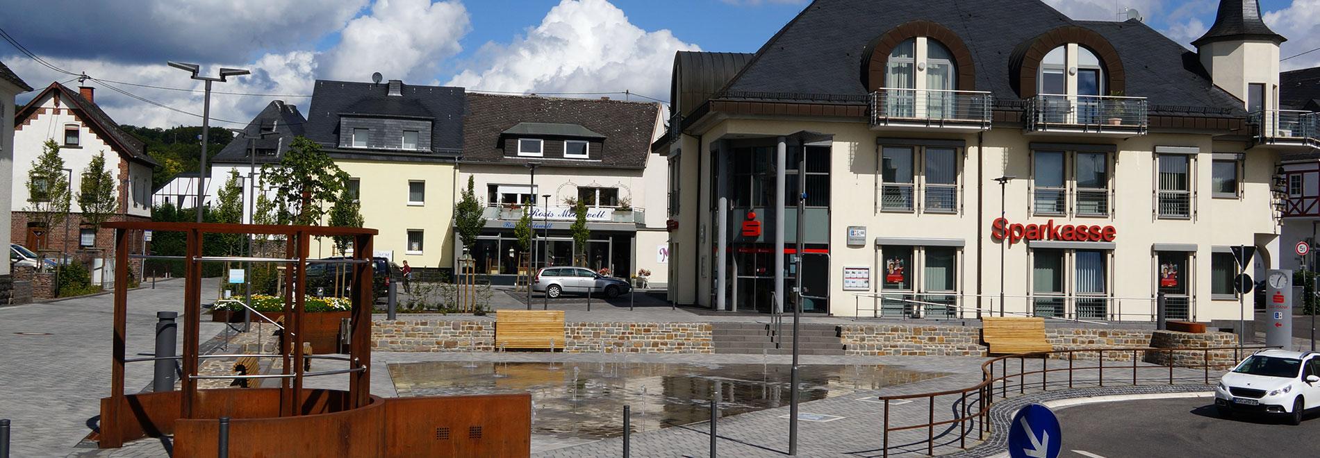 Kaisersesch, Sanierung Zentralplatz