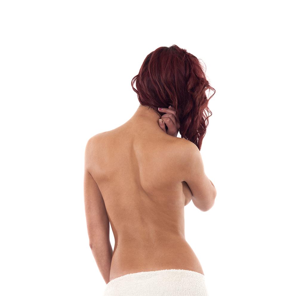 Rücken Peeling