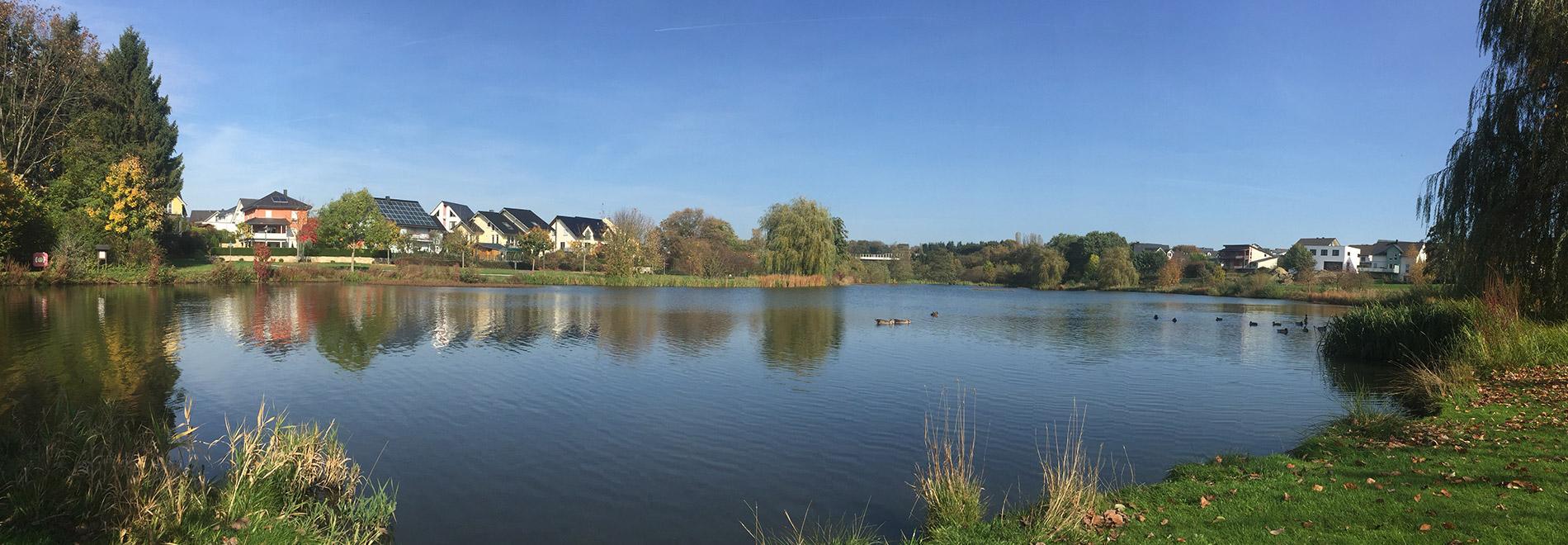 Kastellaun, Erschließung Wohngebiet  inkl. Erschaffung einer Seeanlage